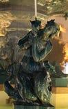 Mermaid Statue in Lisbon. Mermaid Statue at Rossio Square in Lisbon, Portugal stock photo
