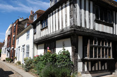 Mermaid Street, Rye Royalty Free Stock Photography