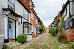 Mermaid Street in Rye Stock Photos