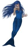 Mermaid Swimming Royalty Free Stock Photos