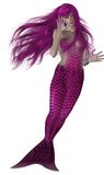 Mermaid Swimming Stock Photo