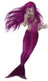 Mermaid Swimming Stock Photo