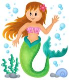 Mermaid theme image 1 Stock Photography