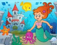 Mermaid topic image 9 Royalty Free Stock Photo