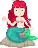 Mermaid vector Royalty Free Stock Image