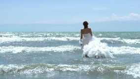 Mermaid wedding stock footage