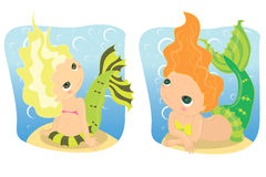 Mermaids Stock Photography