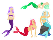 Mermaids Royaltyfria Bilder