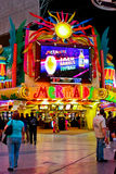 Mermaids Casino, Las Vegas, NV. Mermaids Casino in downtown Las Vegas, NV stock image