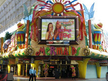 Mermaids Casino on Fremont Street Stock Photos