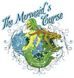The mermaids curse. Vector illustration ideal for printing on apparel clothes Royalty Free Stock Images