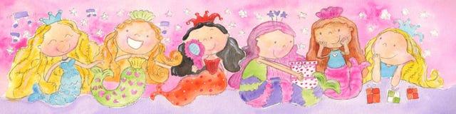 Mermaids-A-Singin' Royalty Free Stock Photo