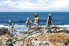 Mermaids of Ocean Stock Photo