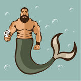 Merman Vector Stock Images