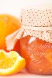 Mermelada anaranjada Fotografía de archivo