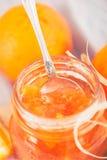 Mermelada anaranjada Imagen de archivo libre de regalías