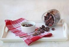 Mermelada de fresa seca (atasco seco de Kiev) Foto de archivo libre de regalías