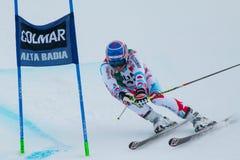 MERMILLOD BLONDIN Thomas (FRA). Alta Badia, ITALY 22 December 2013. MERMILLOD BLONDIN Thomas (FRA) competing in the Audi FIS Alpine Skiing World Cup MEN'S GIANT Royalty Free Stock Photo