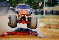 Merodeador del monster truck Fotografía de archivo libre de regalías