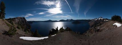 Merriam Point Overlook Oregon Panorama Stock Image