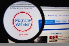 Merriam-Webster obraz royalty free