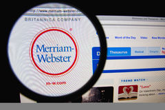Merriam-Webster Royalty Free Stock Image