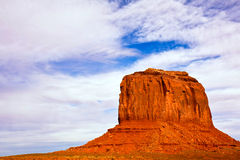 Merrick Butte. In Monument Valley Tribal Park, Arizona Stock Image