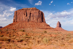 Merrick Butte at Monument Valley Stock Image