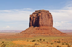Merrick Butte Monument Valley Stock Image