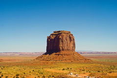 Merrick Butte at Monument Valley, Arizona Stock Photography