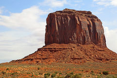 Merrick Butte. In Monument Valley, Arizona royalty free stock photography