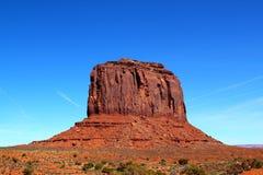 Merrick Butte no vale do monumento/Utá o Arizona/EUA fotos de stock