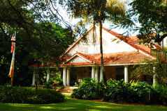 Merrick House, αετώματα κοραλλιών στοκ εικόνα με δικαίωμα ελεύθερης χρήσης