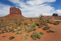 Merrick's Butte in Monument Valley Royalty Free Stock Photography