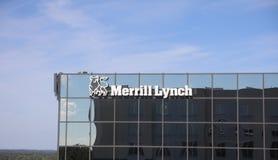 Merrill Lynch bogactwa zarządzanie fotografia royalty free