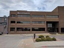Merrill Lynch in Sioux Falls del centro fotografia stock