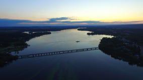 Merrimac Pier. Merrimac Wisconsin Sunset
