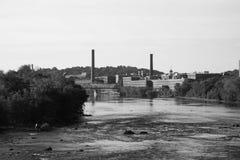 Merrimack河 免版税库存图片