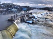 Merrimack flod Royaltyfri Bild