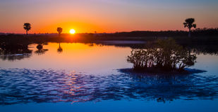 Merritt Island Sunrise images libres de droits