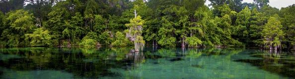 Merritts maler det panorama- dammet Arkivbilder