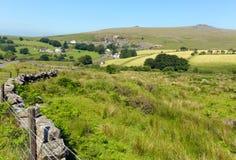 Merrivale Dartmoor Devon England UK Arkivbilder