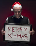 Merry Bloody Christmas. Stock Photography