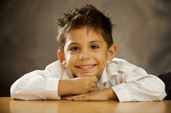 The merry boy Stock Photography