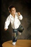 The merry boy Royalty Free Stock Photo