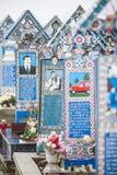 Merry Cemetery in Sapanta, Romania. Royalty Free Stock Photos