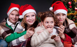 Merry Children Stock Images