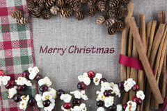 Merry Chirstmas Card Stock Images