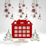 Merry Chistmas Royalty Free Stock Image