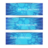 Merry Christamas header or banner.Vector Royalty Free Stock Photos